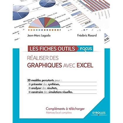 Réaliser des graphiques avec Excel: 30 modèles percutants pour présenter des synthèses, analyser des résultats, construire des simulations visuelles. (Les fiches outils)