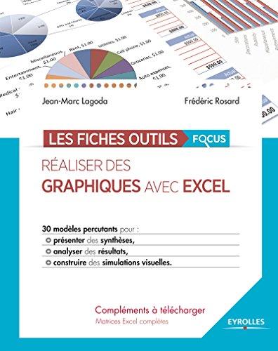 Réaliser des graphiques avec Excel: 30 modèles percutants pour présenter des synthèses, analyser des résultats, construire des simulations visuelles. (Les fiches outils) par Frédéric Rosard