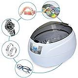 Ultraschallreinigungsgerät SKYMEN 750ML Ultraschallreiniger 35W Ultraschallgerät für Brille Schmuck Uhren Prothese Ringe Halskette Münzen Rasierapparat CD usw