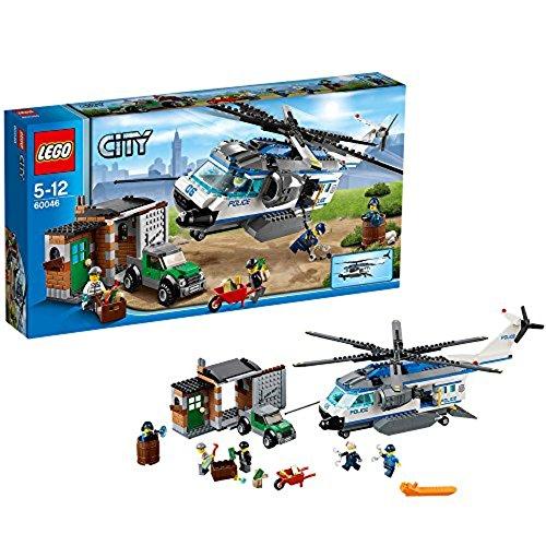 LEGO City 60046 - Verfolgung mit dem Polizei-Hubschrauber -