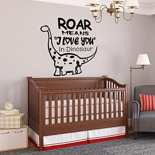 ALLDOLWEGE El arte Decoración de pared Pared adhesivo pegado al dragón de arte de pared de pared del dormitorio sticker 58 * 56cm.