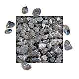 25 kg Marmorsplitt Carnico Edition (Schwarz) Körnung 22/32 mm Zierkies Ziersplitt Deko Marmor Dekoration Splitt NEU