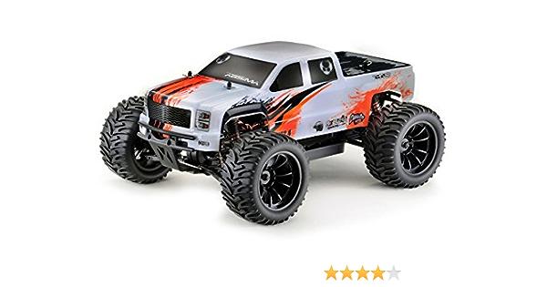 Absima Hot Shot Series 12216 Next Generation Amt2 4 Brushless 1 10 Rc Modellauto Elektro Monstertruck Allradantrieb Rtr 2 4 Ghz Spielzeug