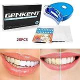 genkent bambù sbiancante per i denti kit avanzato denti sbiancamento dei denti e il dente luce sbiancamento acceleratore per portare i denti bianchi forte e sano