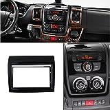 feeldo Radio de coche DVD Dash Mount Kit Adaptador Trim Panel marco salpicadero para Fiat Ducato para Citroen Jumper para Peugeot Boxer