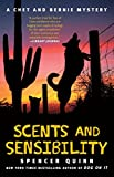 Front cover for the book Scents and Sensibility by Spencer Quinn