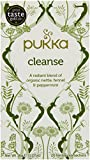 Pukka Organic Cleanse 20 Teabags (Pack of 4, Total 80 Teabags)