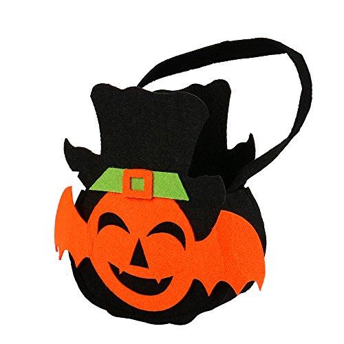 Brydon Halloween Fledermaus Stil Candy Bag Geschenk (Handtasche Stil Eimer)