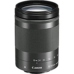 Canon 18-150 mm / F 3.5-6.3 EF-M IS STM Objectifs 18 mm