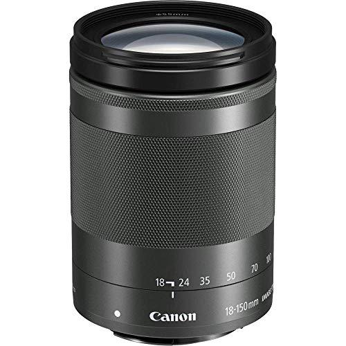Canon EF-M 18-150mm F3.5-6.3 IS STM Objektiv (55mm Filtergewinde) schwarz