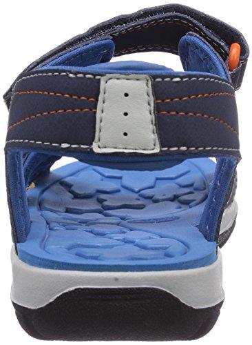 Timberland Sporty Sandal Ftk_mad River 2 Strap, Sandales ouvertes mixte enfant Bleu