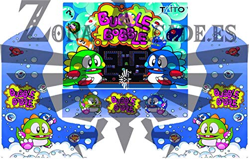 Zona Arcade Vinilo para recreativa bartop (Bubble Bobble)