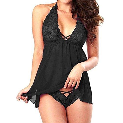 Malloom® Mode Sexy Racy Muslin Unterwäsche Maid Uniformen Versuchung Unterwäsche (l, (Sexy Uniform Army)