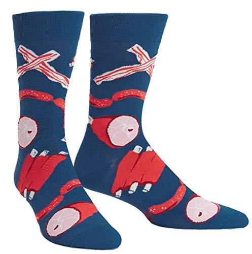Preisvergleich Produktbild Sock It To Me Herren-Crew Socken - Nice to Meat you (EU Größe: 38-46)