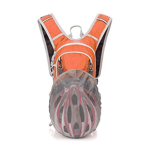 Imagen de txj  deportiva impermeable para ciclismo, viajes, acampada, senderismo, actividades al aire libre naranja