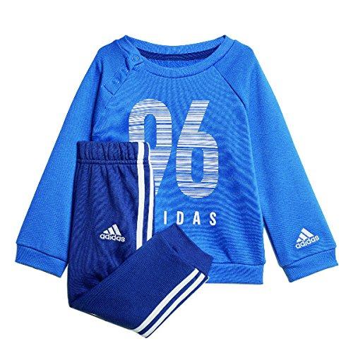 adidas I E CREW JOG FT Sportanzüge-Kinder - traroy/white, Größe #:104
