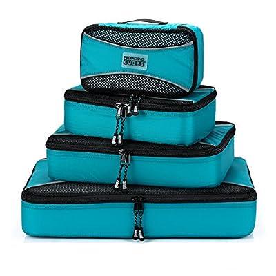 PRO Packing Cubes   Packwürfel im 4-teiligen Sparset   Taschen mit 30 % Platzeinsparung   Ultraleichte Gepäckverstauer   Ideal für Seesäcke, Handgepäck und Rucksäcke