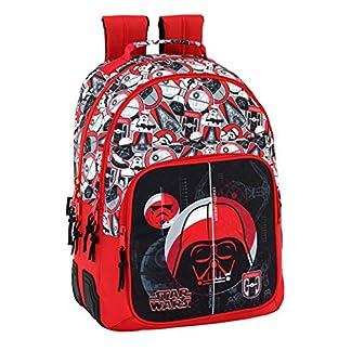Safta Mochila Escolar Star Wars «Galactic Mission» Oficial 320x150x420mm