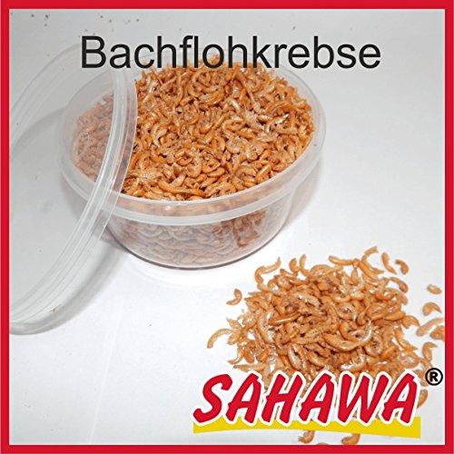 Sahawa Hausmarke Zierfischfutter 400 ml Dosen verschiedene Sorten, Daphnien, Rote Mückenlarven, Bachflohkrebse, Shrimps, getrocknete Fische, Mehlwürmer, Flockenfutter (Bachflohkrebse) -