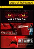 Best of Hollywood - 3 Movie Collector's Pack: Anaconda / Vampire Bats / Red Water [3 DVDs]