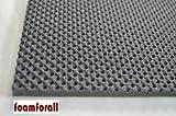 Dämmmatte, Absorptionsmatte aus hochwertigem, offenzelligem PU-Schaumstoff,geprägt, selbstklebend 2m x 1 m Stärke 20mm