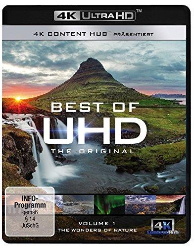 Best of UHD 4k - Das Original - Vol. 1: Wonders of Nature [Ultra HD Blu-ray] (Pflanzen Garten Besten)