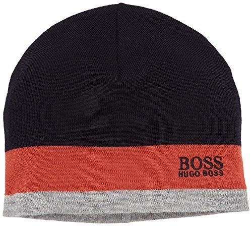 BOSS Green Herren Strickmütze 50323052, Orange (Dark Orange 805), One size