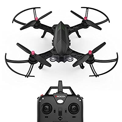 DROCON Bugs 6 Brushless Racing Drone 1806 1800KV Motors Pre-assembled RTF Quadcopter for Training (Upgradable to FPV Version) by MJX RC