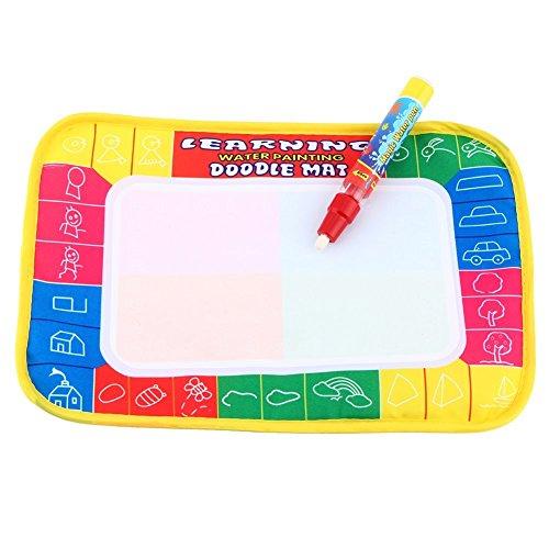 L'apprentissage Emmenait Doodle Peinture Planche à dessin Chiffon effaçable Tapis jouet Cadeau pour enfant