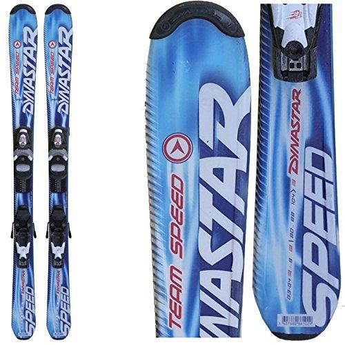 Skifahren Angebot junior Dynastar Team Speed dunkelblau + Befestigungen - 130 cm (Kinder Dynastar Ski)