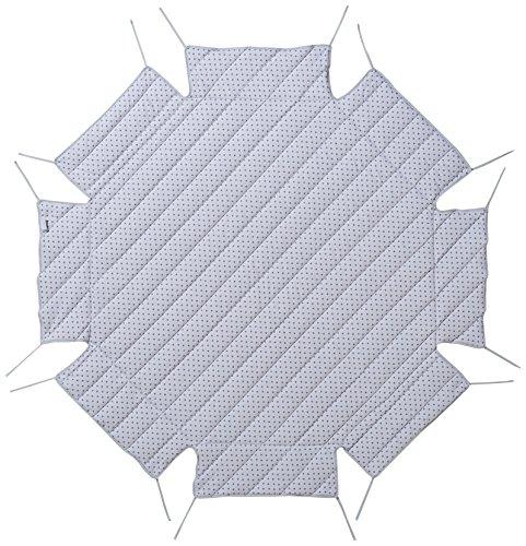 Combelle–Tapis Pour Parc 374615–Ronde–étoiles avec aufkantung Gris