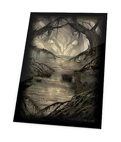 Ultimate Guard Printed Sleeves Standard Size Lands Edition Swamp I (80) Custodie