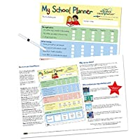 My School Planner supporting children with the transition and readiness for primary school for 4yrs+. Encouraging routine and independence (420 x 297mm)