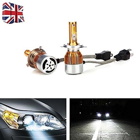2x LED kit de conversion de remplacement H49003Go2haute faible Faisceau ampoules de phare pour Mazda MPV/Tribute/2