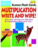 Multiplication Flashcards Write & Wipe (Kumon Flash Cards) by (2015-10-29)