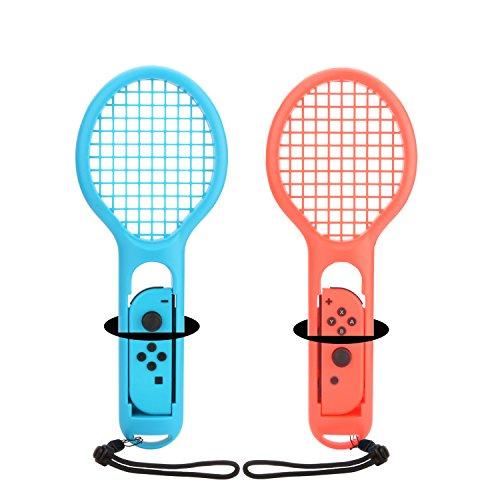 Tennisschläger für Nintendo Schalter Mario Tennis Aces One Paar