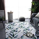 RUG LUYIASI- Einfache Moderne Geometrische Cartoon Teppich Wohnzimmer Couchtisch Schlafzimmer Sofa Shop Home Rechteckige Nachtdecke Non-Slip Mat (Farbe : A, größe : 150x190cm)