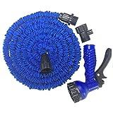 GDERT Multifunktionale Auto Waschen Wasserpistole Auto Waschmaschine Hochdruckwasserpistole, 25 Meter Blau