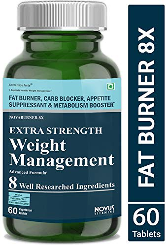 Carbamide Forte Keto Fat Burner & Natural Weight Loss Supplement For Men And Women with Garcinia Cambogia and 7 Other Ingredients- 60 Veg Tablets