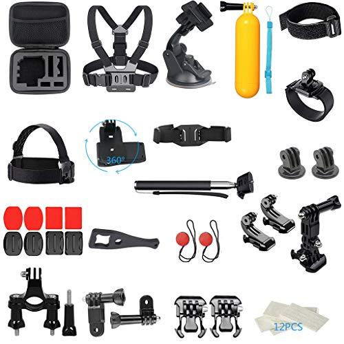 Preisvergleich Produktbild 41-in-1 Für DJI OSMO Action Zubehör Kamera Outdoor Sports Set Kit Enthalten Brustgurt / Stirnbandhalterung / Fahrradlenkerhalterung / Stativadapter, JSxhisxnuid (41 Satz)