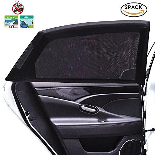 Tospanic - 2 fundas-parasol ventanilla coche - Protección