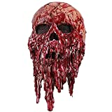 Bloody Zombie Mask Halloween Scary Erwachsene Männer Bloody Zombie Skeleton Gesichtsmaske Kostüm...