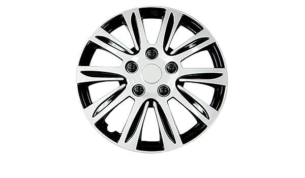 Pilot Automotive WH547-15S-B Silver 15 Premier Wheel Cover, Set of 4