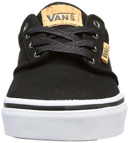 Vans Y Atwood Deluxe, Sneakers Basses mixte enfant Noir (10Oz Canvas/Black/Blanket)