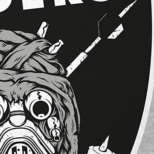 A.N.T. Tusken Raiders T-Shirt Femme football américain team tatooine Gris chiné
