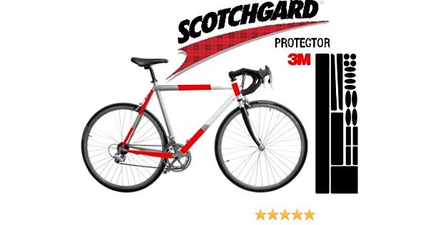 3m Lackschutz Folie Schutz Für Fahrrad Transparent Bogen Gross X Treme Ca 0 36mm Stark 170x560mm Sport Freizeit