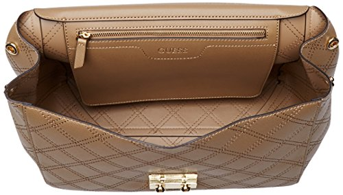 Guess HWARIAP7319, Borsa a Tracolla Donna, 14x21x31 cm (W x H x L) Beige (Taupe)