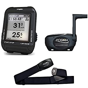 51k%2Bk7s8EJL. SS300  - TRYWIN/POSMA D3 GPS Cycling Bike Computer Speedometer Odometer Navigation, ANT+ Support STRAVA MapMyRide (BHR20 Heart Rate Monitor BCB20 Speed/Cadence Sensor Bundle Option Available)