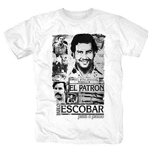 Escobar Shirt (M, Weiss)
