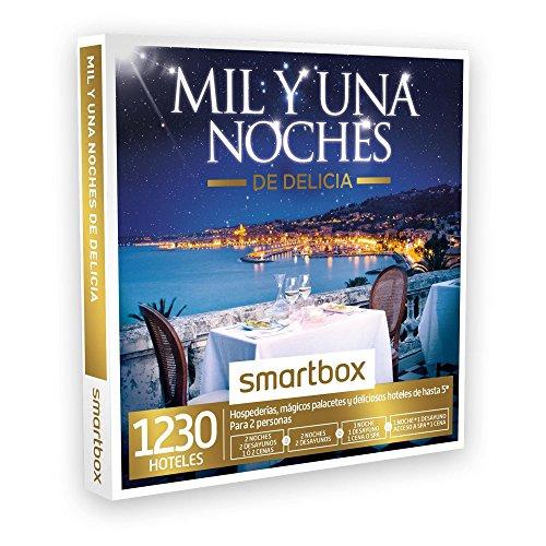 SMARTBOX – Caja Regalo – MIL Y UNA NOCHES DE DELICIA – 1230 hospederías, palacetes y hoteles de hasta 5* en España, Portugal y Francia